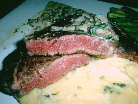 Perfect Blue Steak