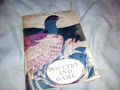 Women's Institute Poultry and Game Cookery Book