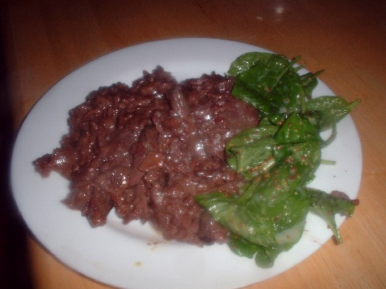 Pigeon Risotto