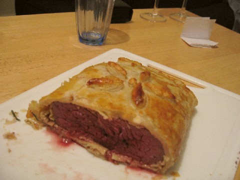 Ostrich Wellington