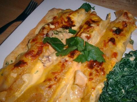 seafood canneloni