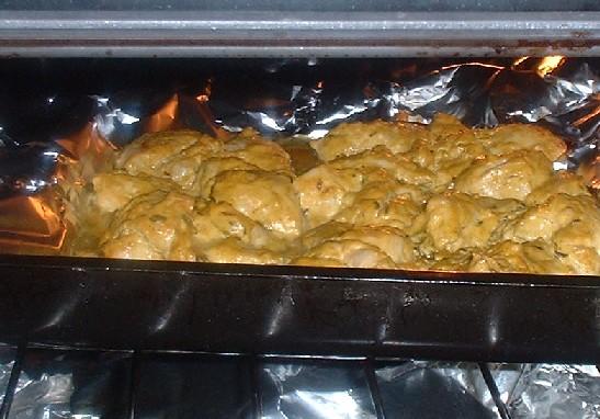 chicken tikka in the oven