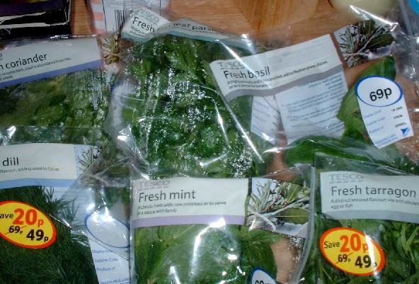 Glut of herbs