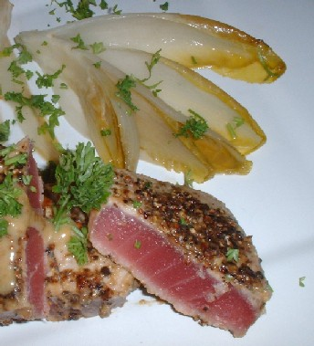 tuna and chicory