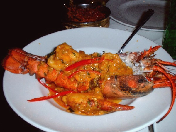 lobster curry!