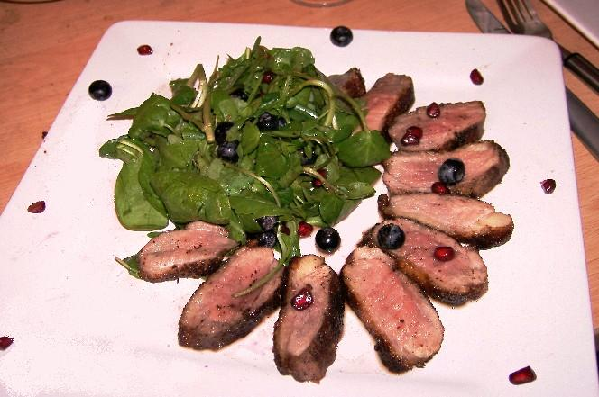 my duck salad