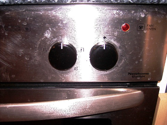 unreadable cooker dial