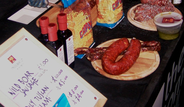 Chorizo stall